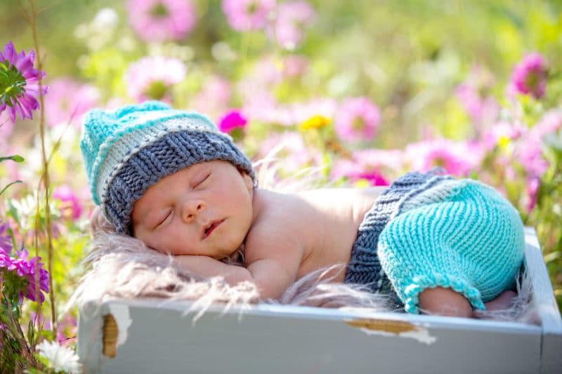 Bebe nacido mes abril