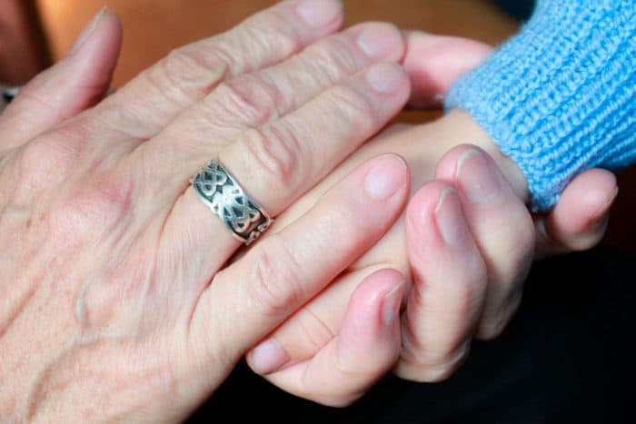 carga genética abuela materna importante