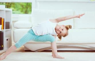 Ejercicio físico niños casa