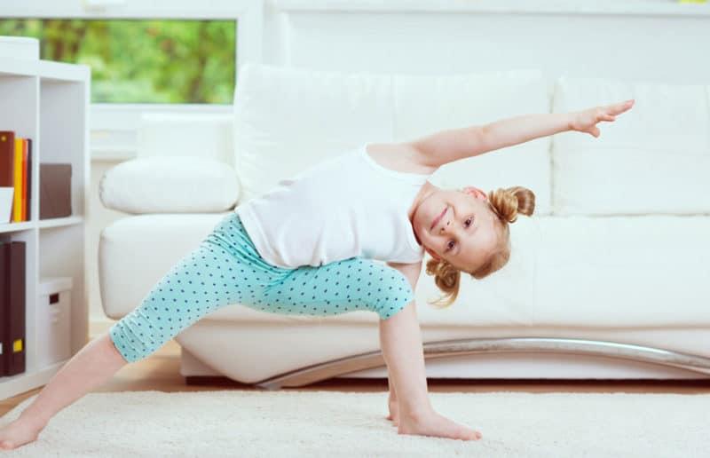 Ejercicio físico para niños en casa