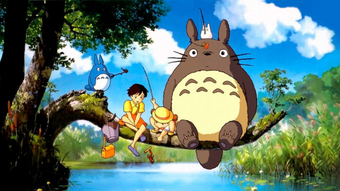 Película familia Netflix Mi vecino Totoro