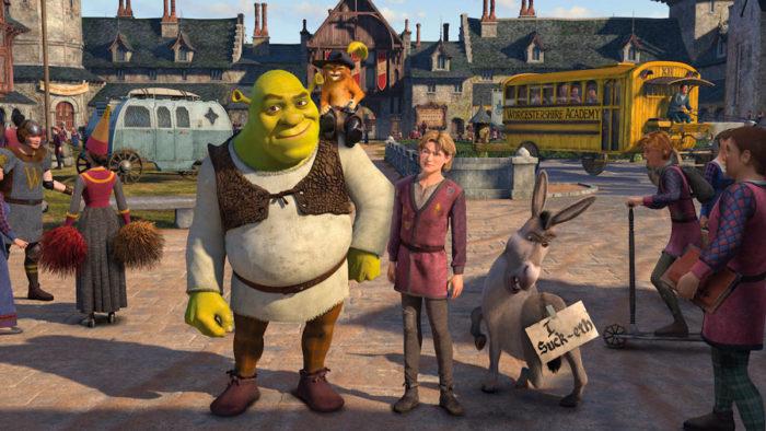 Película niños Netflix Shrek