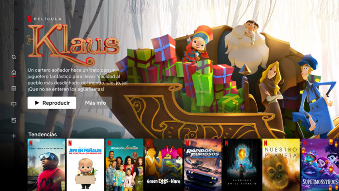 Películas Netflix familiares