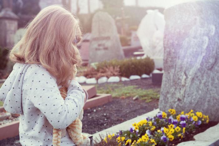 Explicar niños muerte ser querido