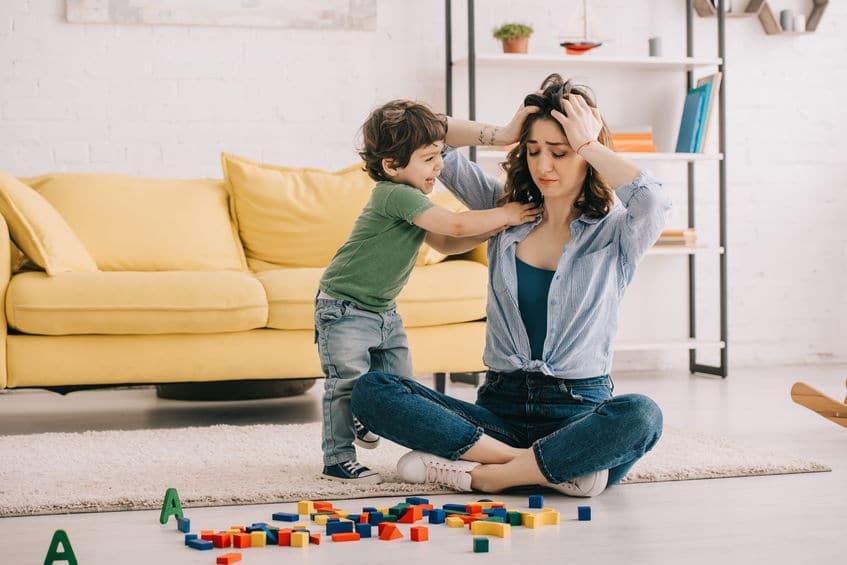 No tengo ganas de jugar con mi hijo…