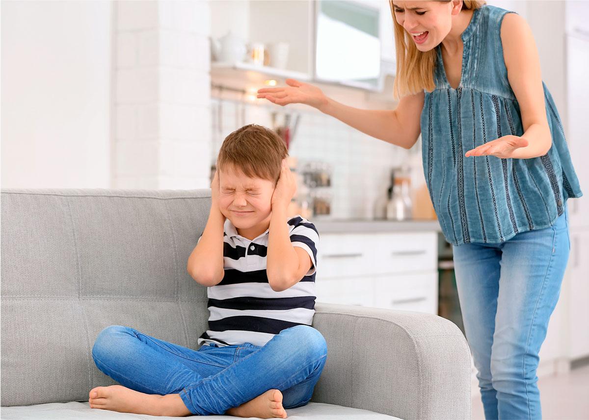 Insulto madre hijo