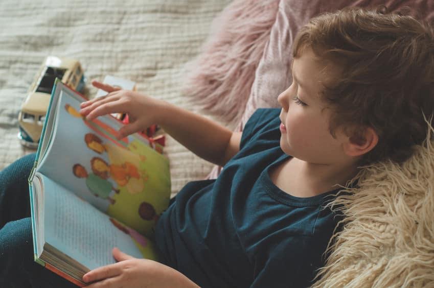 Leer vs tv niños