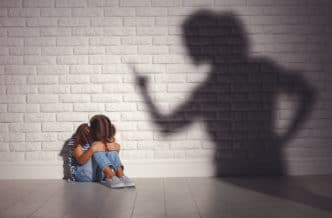 Miedo y respeto a los padres en niños