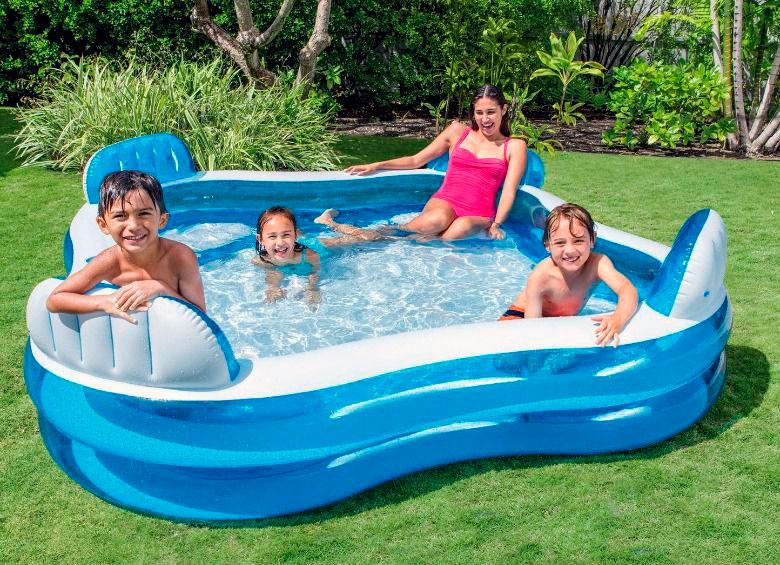 Piscina hinchable Family Lounge Pool Intex