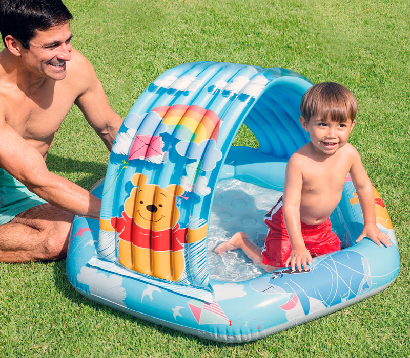 Piscina hinchable infantil Winnie the Pooh barata