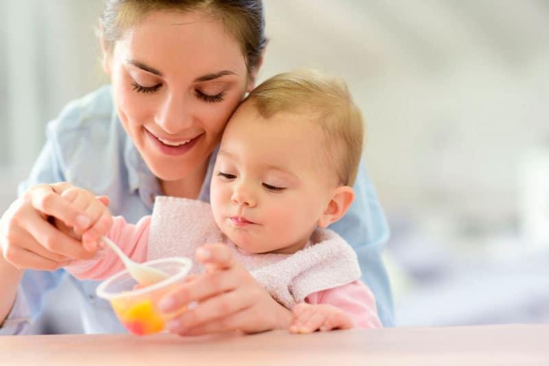 alimentos potencian desarrollo cerebro bebé