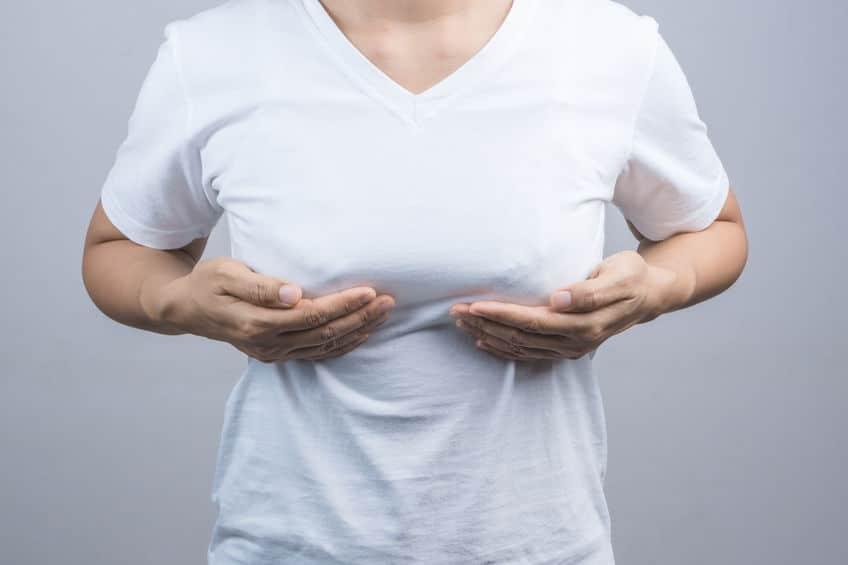 Crecimiento de los senos es un síntoma de embarazo