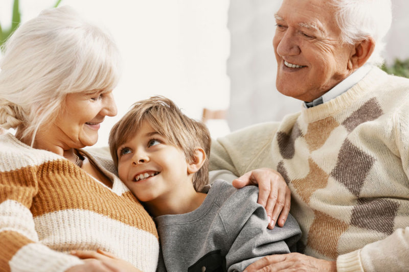 Nietos criados por sus abuelos