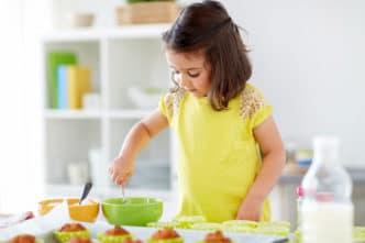 Postres faciles para niños