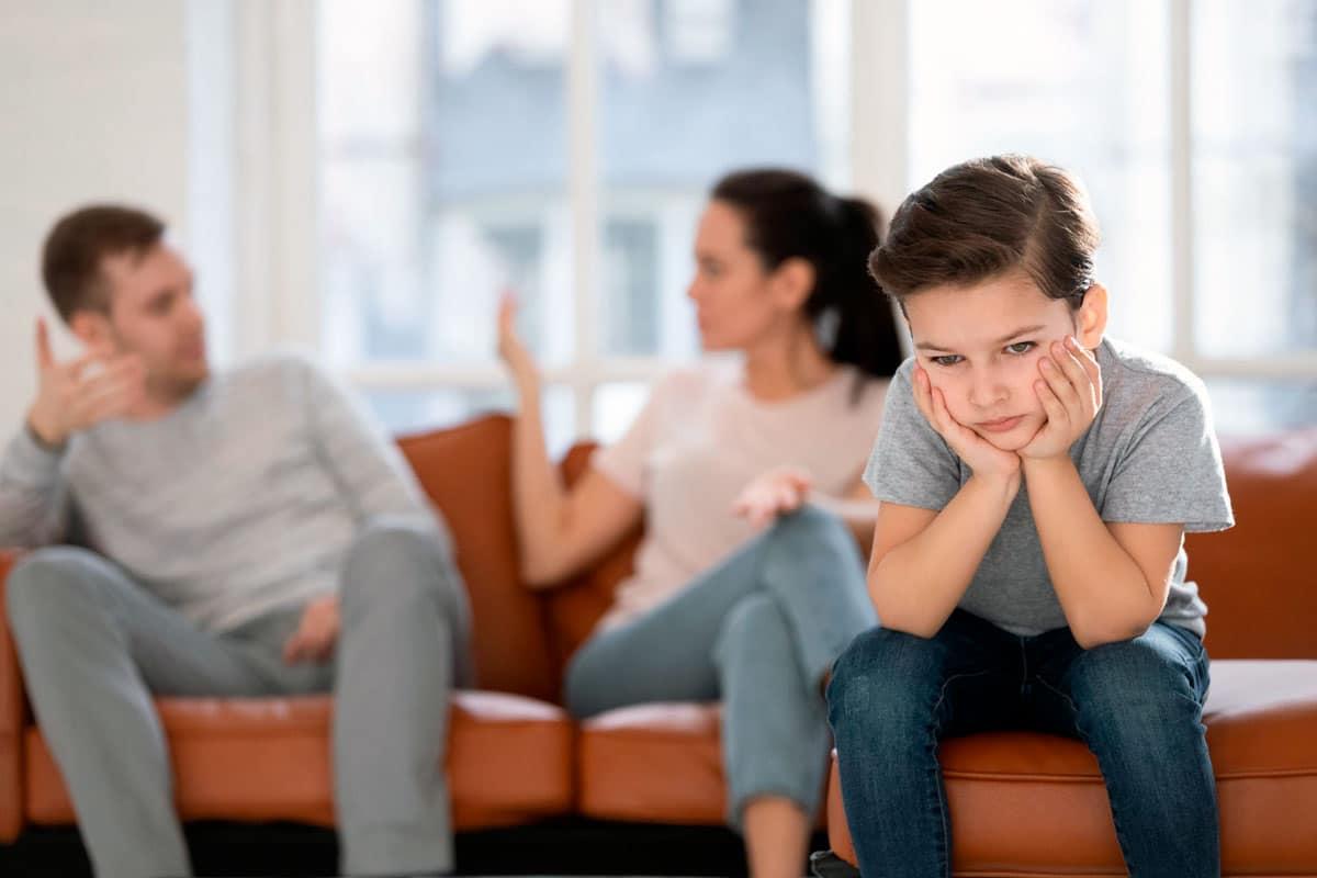 Cosas no hablar delante hijos
