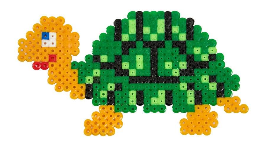 Tortuga Hama Beads