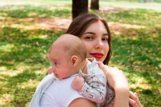 eructar bebé