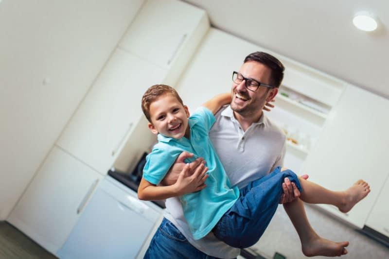 padre activo crianza hijos
