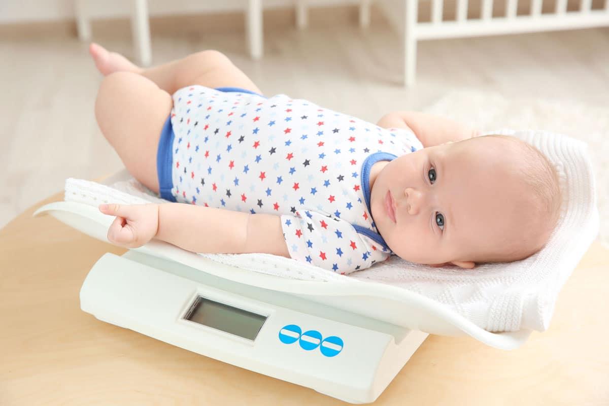 El aumento de peso en los bebés durante su primer año de vida