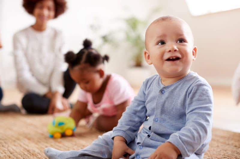 Enseñar a hablar al bebé