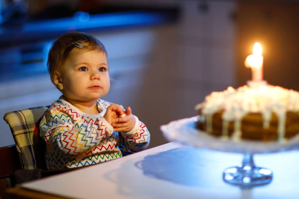 Haz una fiesta de cumpleaños aunque tus hijos sean pequeños