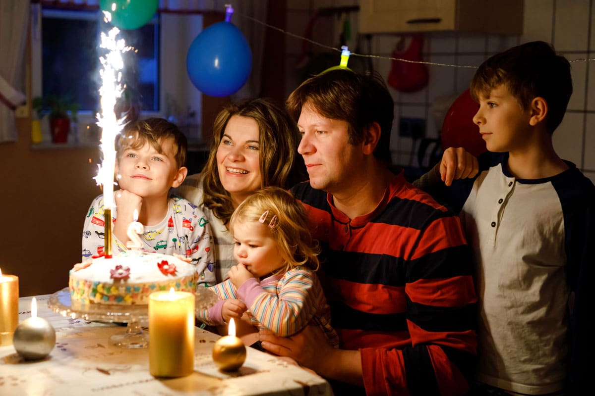 fiesta cumpleaños bebés