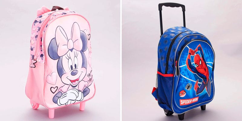 kiabi mochila minnie spiderman
