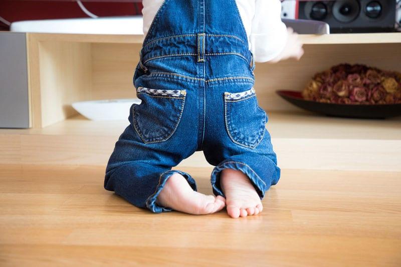 edad empezar usar zapatos bebé