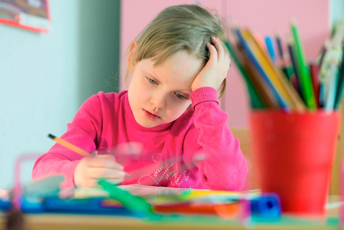 Guía de horas de estudio infantil según la edad