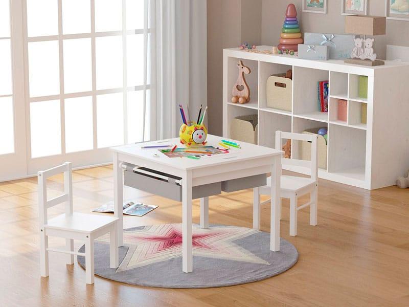 Las mejores mesas y sillas infantiles para niños pequeños