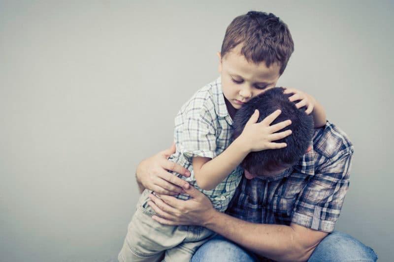padres reales lloran