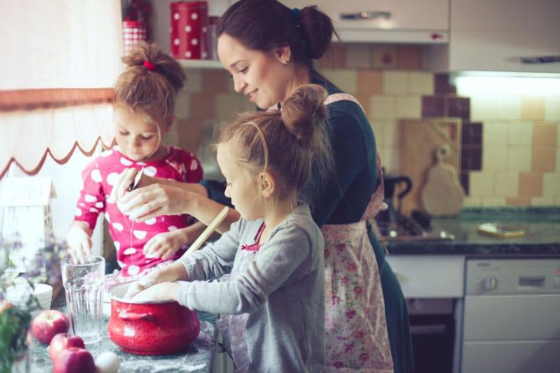Reto cocinar niños