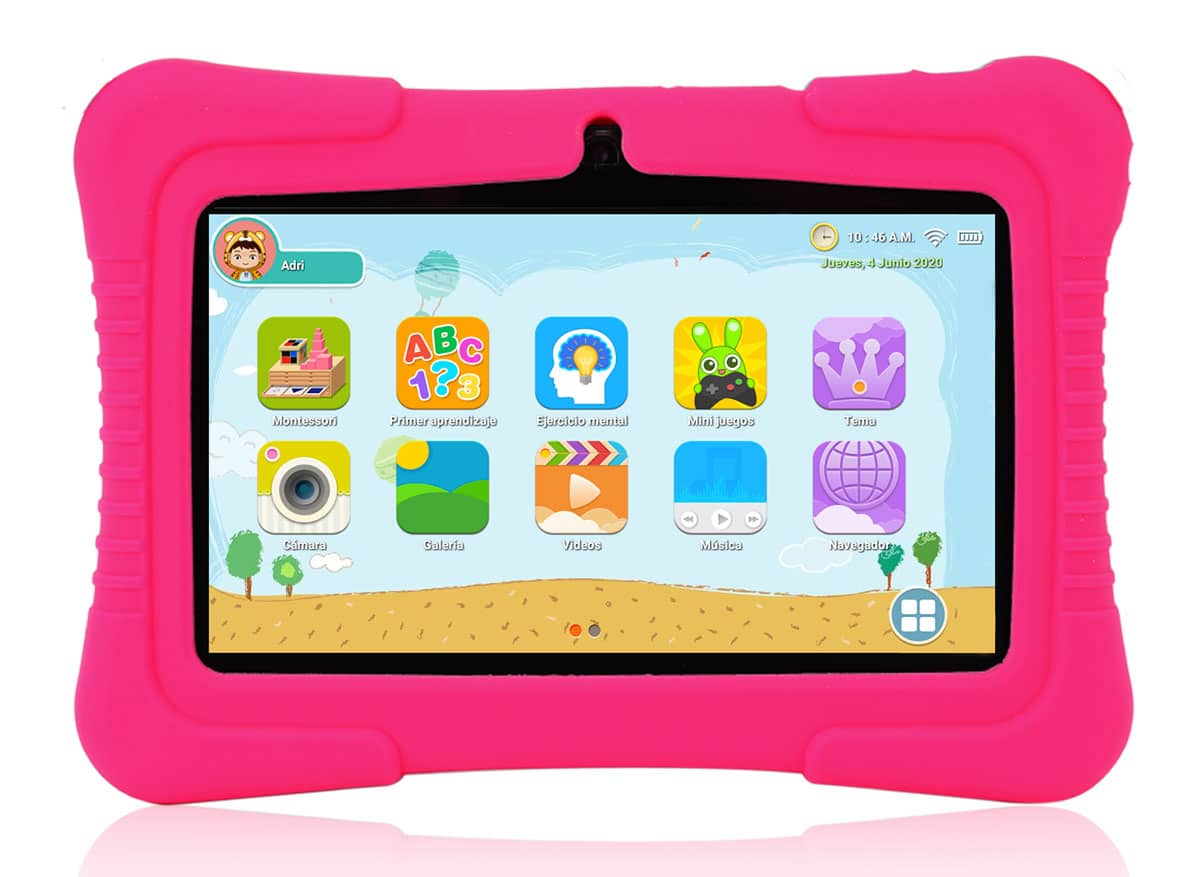 SaveFamily: Nueva tablet infantil con doble control parental y módulo Montessori
