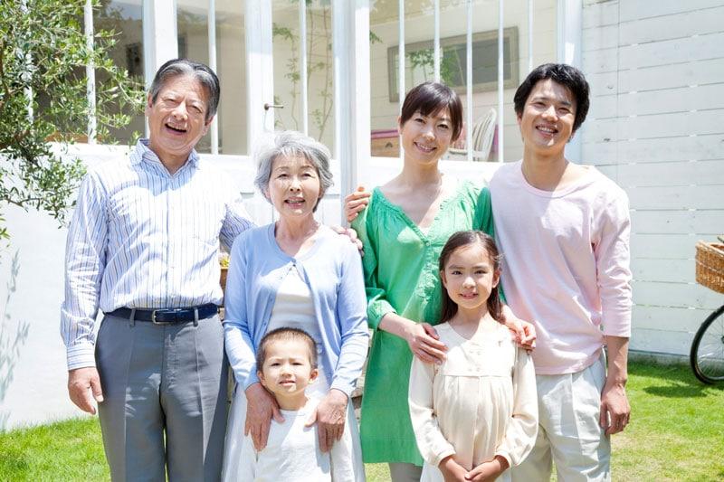 familia japonesa respeto