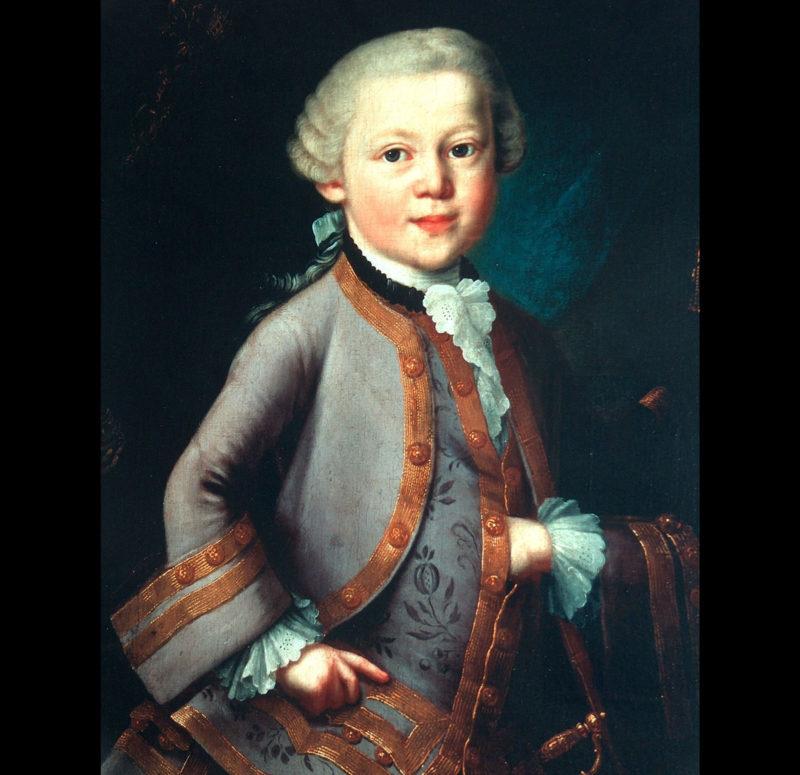 El niño Mozart