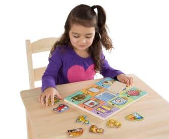 Tablero Montessori