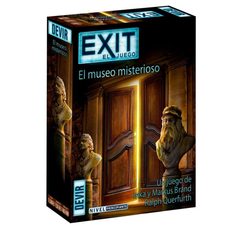 Escape room infantil El museo misterioso