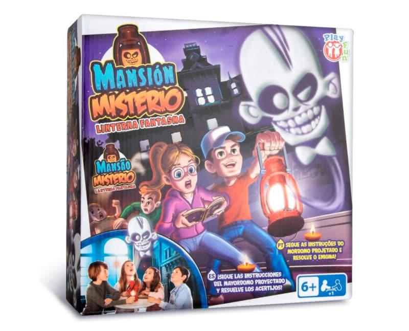 Escape room para niños Mansión Misterio