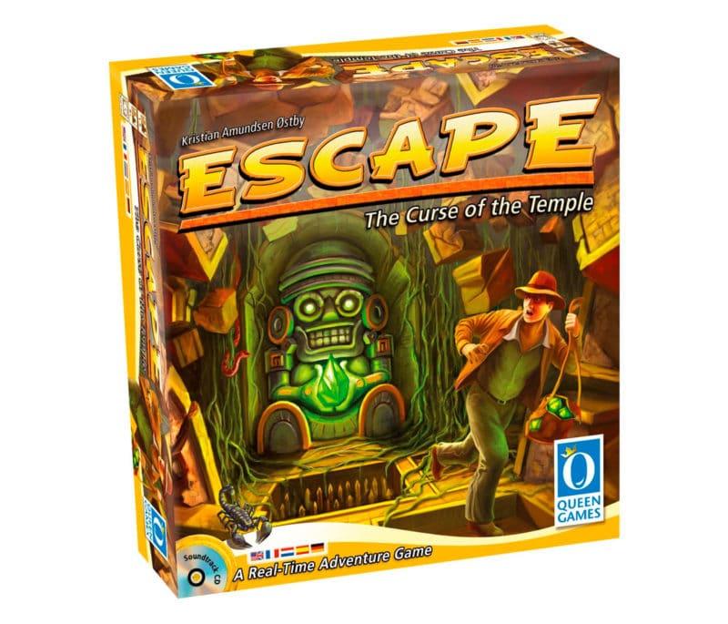 Escape room para niños La maldición del templo