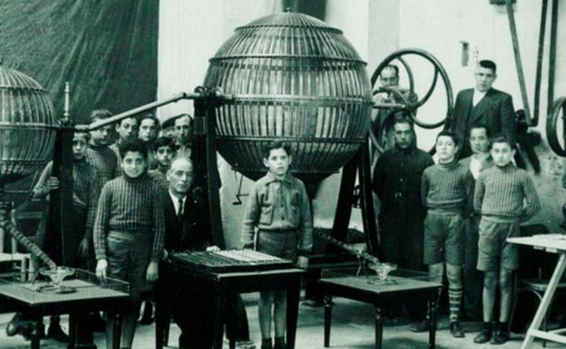 Niños San Ildefonso huérfanos historia