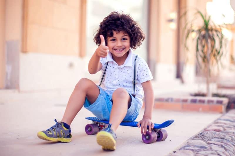 calzado infantil adecuado