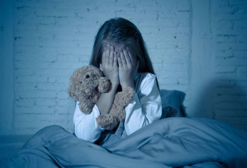 pesadillas niña separación padres