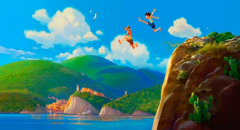 Película animación Luca 2021