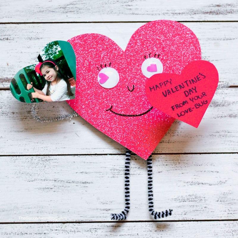 Manualidad San Valentin Muñeco corazon