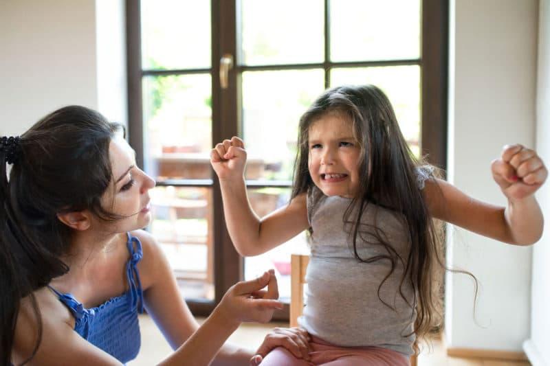 conductas agresivas niños 3 años