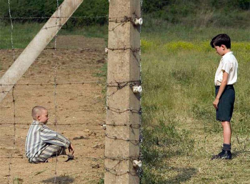 El niño con el pijama de rayas resumen