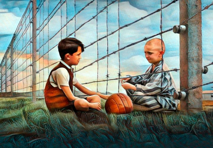 """""""El niño con el pijama de rayas"""", una historia para reflexionar"""