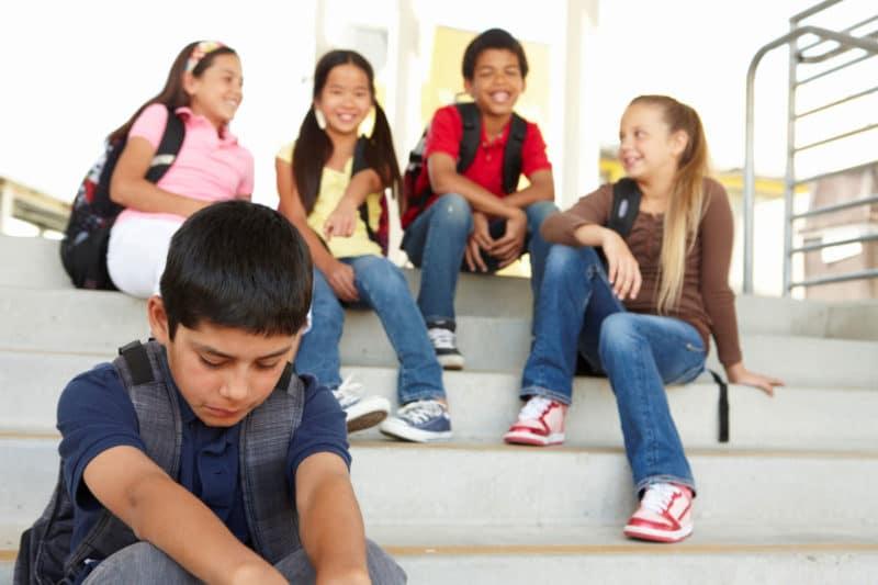 niño acoso escolar