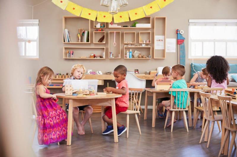 Formación educación Montessori
