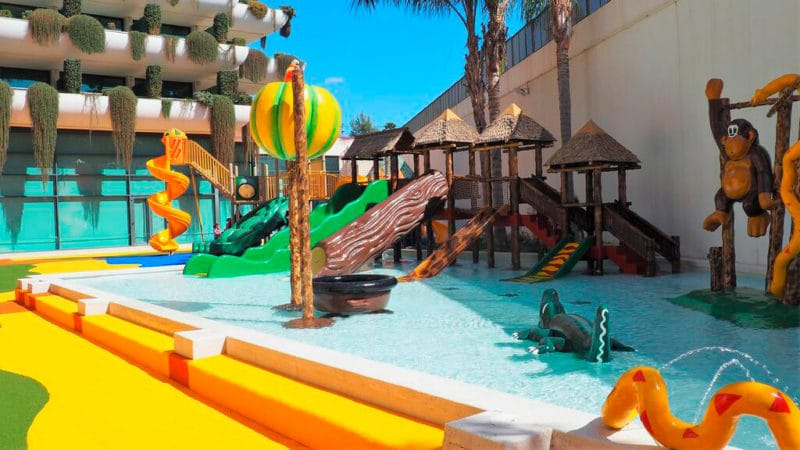 Hotel Deloix Aqua Center, en Benidorm, Alicante
